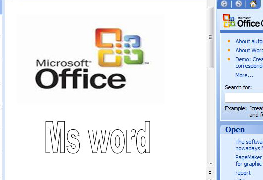 learn ms word in hindi